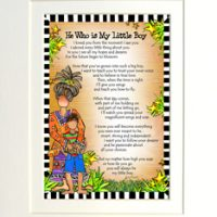 "He Who is My Little Boy – 8 x 10 Matted ""Gifty"" Art Print"