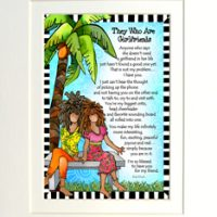 "They Who Are Girlfriends – 8 x 10 Matted ""Gifty"" Art Print"