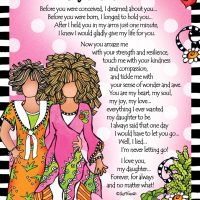"My Daughter, My Heart – 8 x 10 Matted ""Gifty"" Art Print"