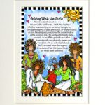 "Golfing with the Girls – 8 x 10 Matted ""Gifty"" Art Print"