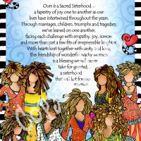 "Sacred Sisterhood of Wonderful Wacky Women (8 girls) – 8 x 10 Matted ""Gifty"" Art Print"
