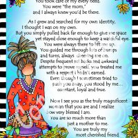 "More Than My Mom – 8 x 10 Matted ""Gifty"" Art Print"