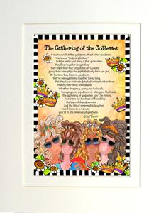 Gathering of the Goddesses art print