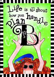 Plan B Art print