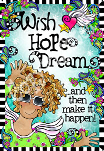 Wish Hope Dream art print