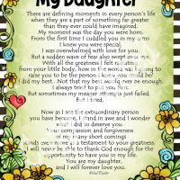 """I'm So Thankful You're My Daughter – 8 x 10 Matted """"Gifty"""" Art Print"""