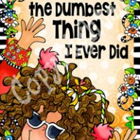"""Becoming an Adult is the Dumbest Thing I ever did – 8 x 10 Matted """"Gifty"""" Art Print with a story on the back (16×20 also available)"""