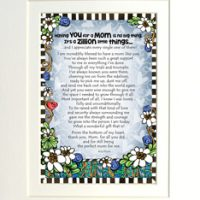"Having you for a Mom is No Big Thing – 8 x 10 Matted ""Gifty"" Art Print"