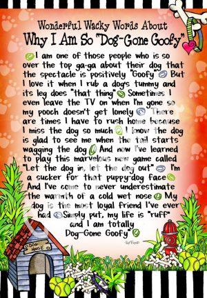Dog-Gone Goofy art print