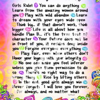 "Wonderful Wacky Words of Wisdom for My Granddaughter – 8 x 10 Matted ""Gifty"" Art Print"