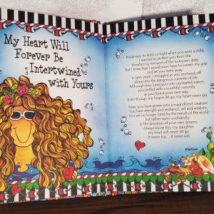 Daughter hardcover book - inside