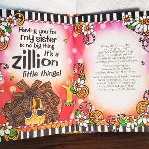 Sisters Hardcover book inside pages
