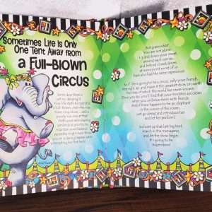 Plan B Hardcover book inside pages