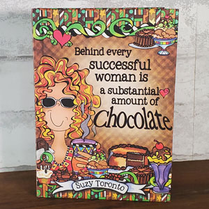 Chocolate hardcover book