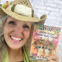 Kindred Spirits Forever Wacky Friends – Hardcover Book