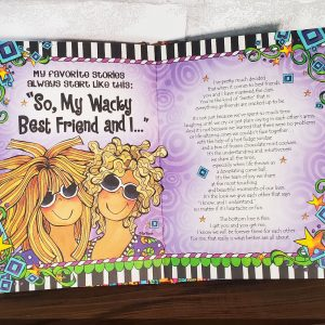 Kindred Spirits hardcover book - inside page