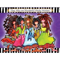 They who are Wonderful Wacky Women – Note Cards