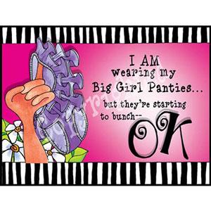 Big Girl Panties - note card pack