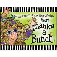 From the bottom of my wild wacky heart. Thanks a Bunch – Note Cards