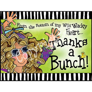 Thanks a Bunch - note card pack