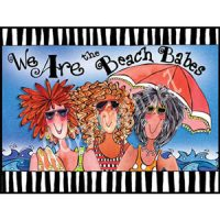 We Are the Beach Babes – Note Cards