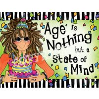 Age is Nothing but a State of Mind – Note Cards
