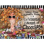 Behind Every Successful Woman is a Substantial Amount of Chocolate – Note Cards