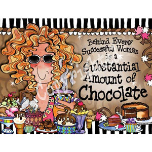 Chocolate - note card pack