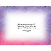 Peace, Love, Wonderful Wacky Women – Note Cards (LIMITED QUANTITIES)