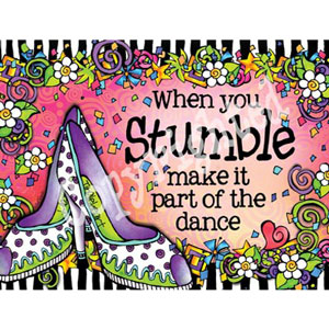 Stumble - note card pack