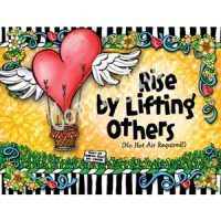 Rise by Lifting Others (no hot air required) – Note Cards