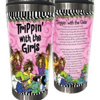 Trippin' with the Girls – 16 oz. Stainless Steel Tumbler