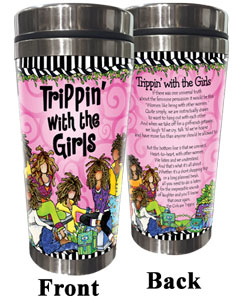 trippin' with the girls Stainless Steel Tumbler