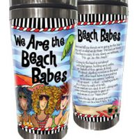 We Are the Beach Babes – 16 oz. Stainless Steel Tumbler