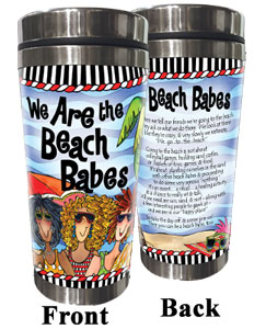 We are the Beach Babes Stainless Steel Tumbler
