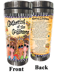 Gathering of the Goddesses Stainless Steel Tumbler