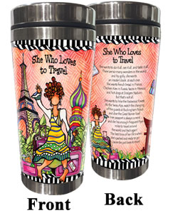 Loves to Travel Stainless Steel Tumbler
