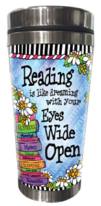 Reading - Stainless Steel Tumbler - FRONT