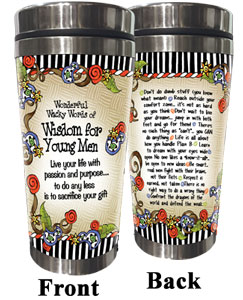Young Men - Stainless steel tumbler