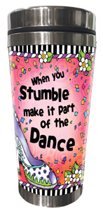 Stumble Stainless Steel Tumbler - FRONT