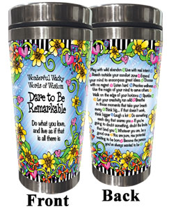 Dare to be Remarkable Stainless Steel Tumbler