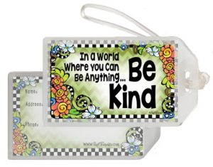 Be Kind - Bag Tag