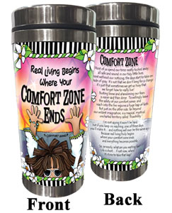 Comfort Zone - Stainless Steel Tumbler