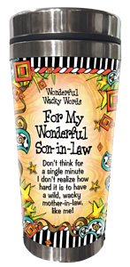 Son In Law - Stainless Steel Tumbler - FRONT