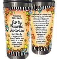 Wonderful Wacky Words For My Wonderful Son-in-Law – Stainless Steel Tumbler