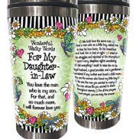 Wonderful Wacky Words For My Daughter-In-Law – Stainless Steel Tumbler