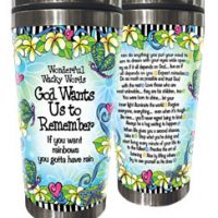 Wonderful Wacky Words God Wants Us to Remember – Stainless Steel Tumbler