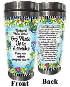 God want Us to Remember - Stainless Steel Tumbler