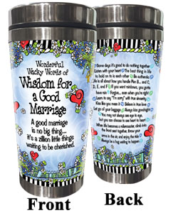 Wisdom for a Good Marriage - Stainless Steel tumbler