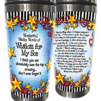 Wonderful Wacky Words For My Son – Stainless Steel Tumbler